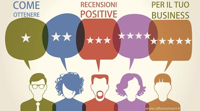 come ottenere Recensioni Positive