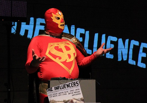 Influencer superhero